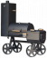 Locomotive VARI Grill for wood with smoker